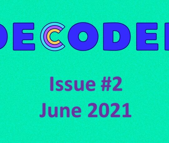 Decoded Pride Issue #2 now available for pre-order